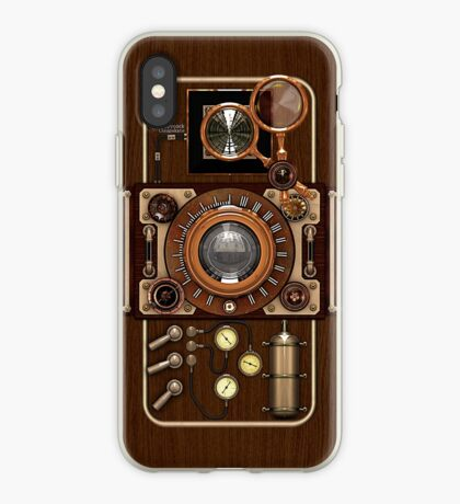 Stylish Steampunk Vintage Camera (TLR) No.1 Steampunk Phone Cases iPhone Case