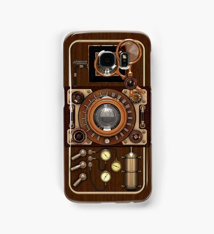 Stylish Steampunk Vintage Camera (TLR) No.1 Samsung Galaxy Case/Skin
