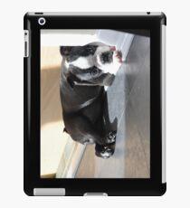 Schläfriger Welpe Bostons Terrier iPad-Hülle & Klebefolie