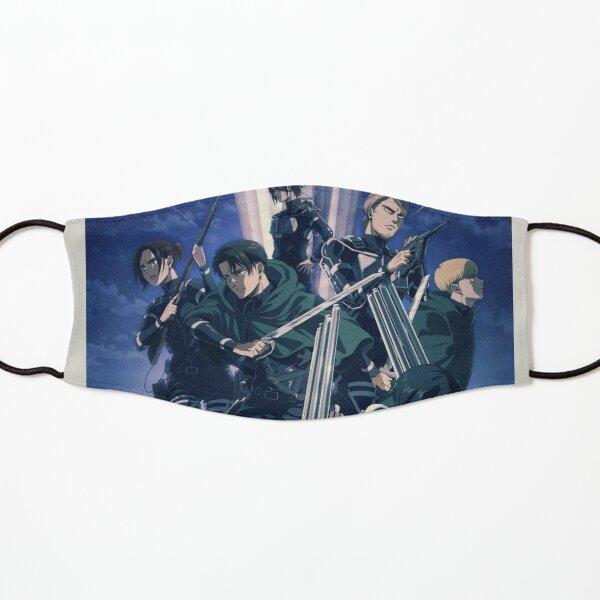 Póster polaroid Shingeki No Kyojin Mascarilla para niños