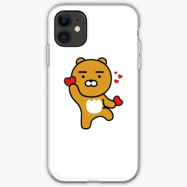 KakaoTalk Friends Hello! Ryan (카카오톡 라이언) iPhone Soft Case