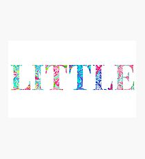 Little, sorority lilly pulitzer Photographic Print
