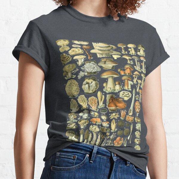 Mushroom Varieties for Fungi Mushroom Hunters Classic T-Shirt