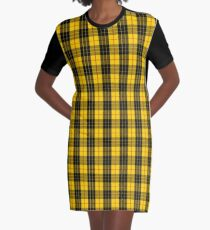 Clan MacLeod Tartan Graphic T-Shirt Dress