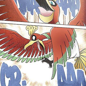 Ho-oh - Manga Edit by aquacarl