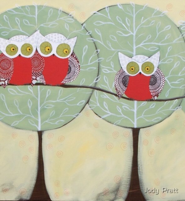The Owl Trees by Jody  Pratt