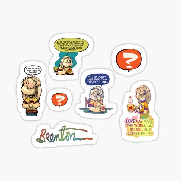 Brenton Sticker Collection, Vol.1 Sticker