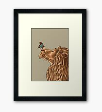Gentle Man Framed Print