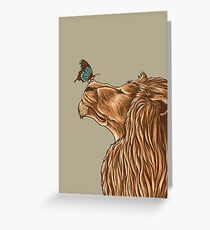 Gentle Man Greeting Card