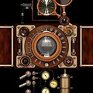 Vintage Steampunk Camera #2A Steampunk phone cases by Steve Crompton