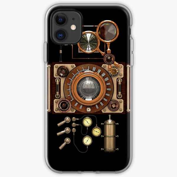 Vintage Steampunk Camera #2A Steampunk phone cases iPhone Soft Case