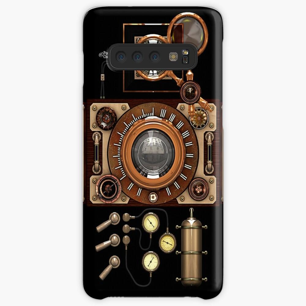 Vintage Steampunk Camera #2A Steampunk phone cases Case & Skin for Samsung Galaxy