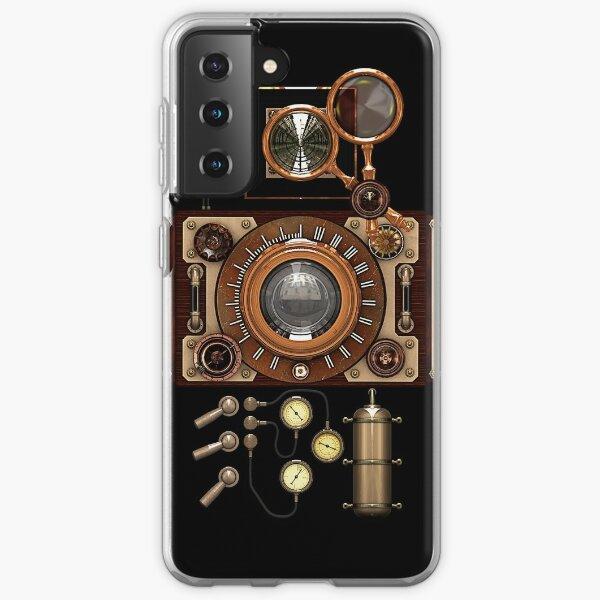Vintage Steampunk Camera #2A Steampunk phone cases Samsung Galaxy Soft Case