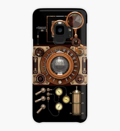 Vintage Steampunk Camera #2A Steampunk phone cases Case/Skin for Samsung Galaxy