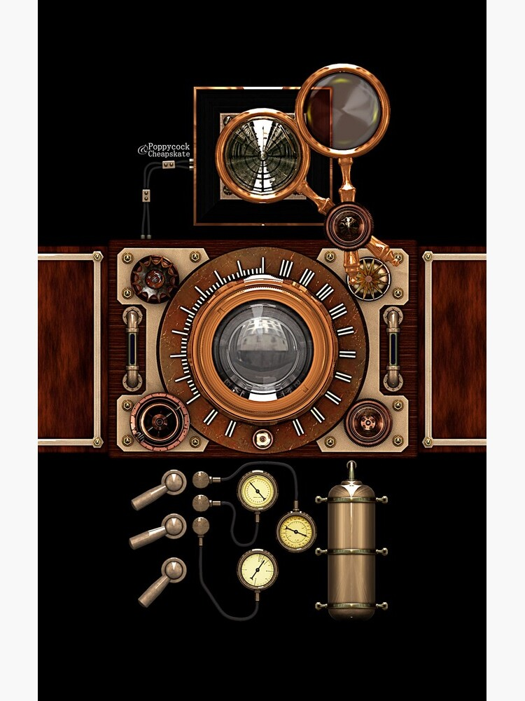 Vintage Steampunk Camera #2A Steampunk phone cases by SC001