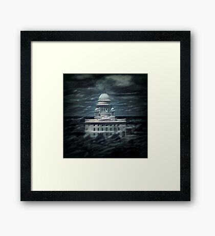 The Ship of State Framed Print