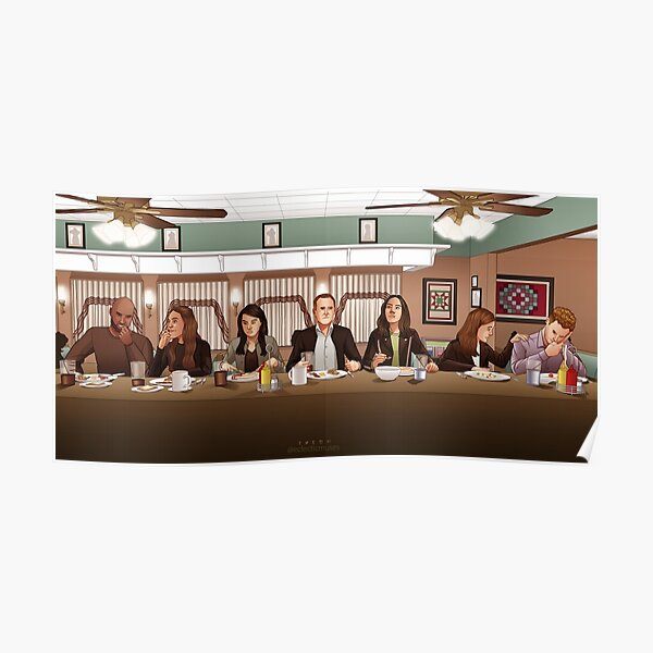 Last Supper at Rae's Poster