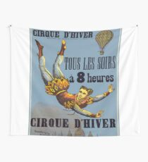 Vintage poster - Cirque D'Hiver Wall Tapestry