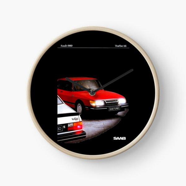 SAAB 900 TURBO 16 - BROCHURE Clock