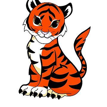 Baby Tiger von charsheee