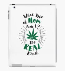 Cannabis Mom iPad Case/Skin