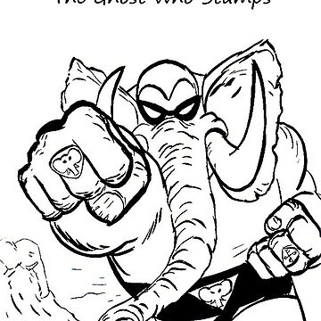 Elephantom - Ghost Who Stamps by MattKyme
