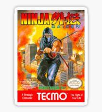 Ninja Gaiden Sticker