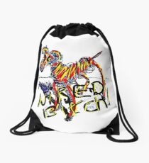 Wired Bitch Drawstring Bag