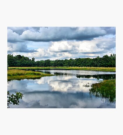 Clouds Reflection Photographic Print
