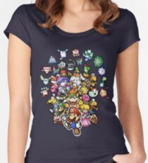 Paper Mario Women's Fitted Scoop T-Shirt