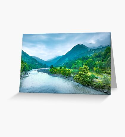 Valley River Greeting Card
