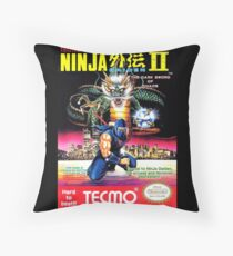 Ninja Gaiden 2 Throw Pillow