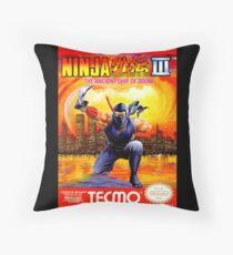 Ninja Gaiden 3 Throw Pillow