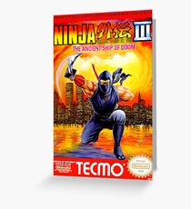 Ninja Gaiden 3 Greeting Card