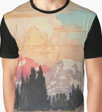 Storms over Keiisino Graphic T-Shirt