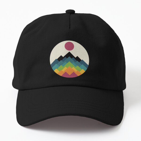 Life Is A Mountain Dad Hat