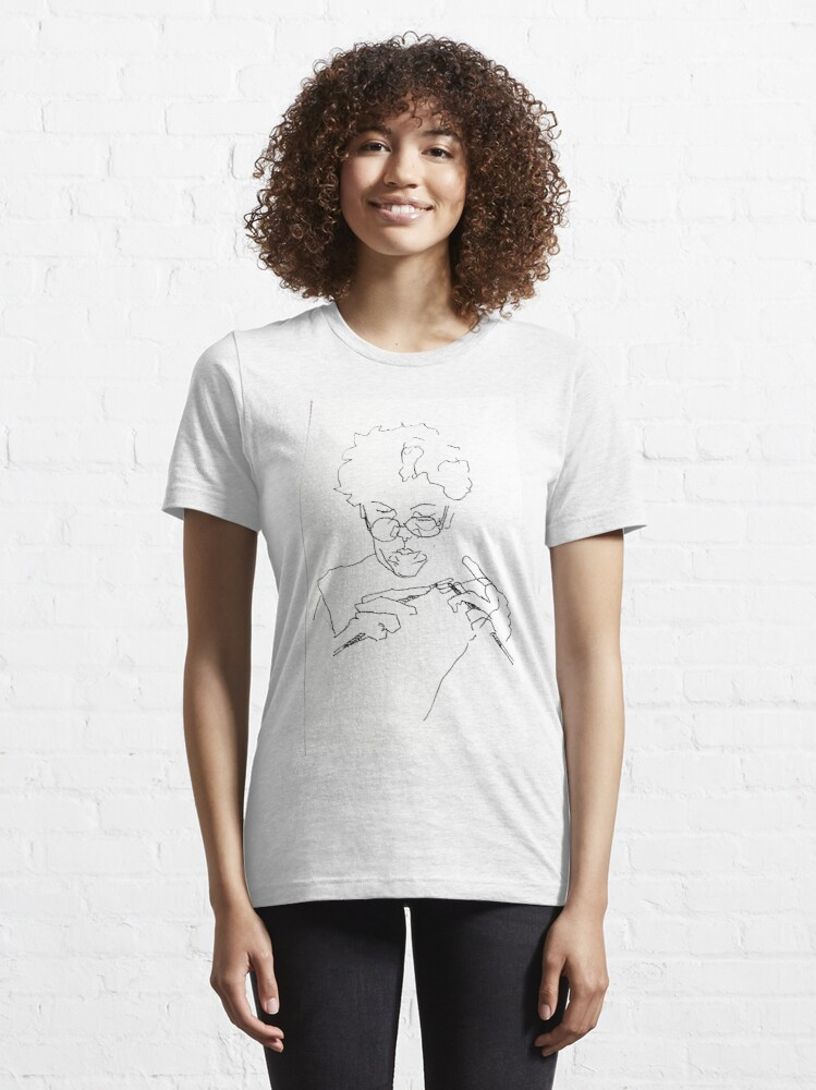 Alternate view of Knitting with concentration Essential T-Shirt