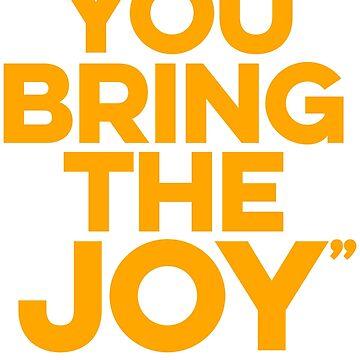 You bring the joy (orange) by LizzieCurious