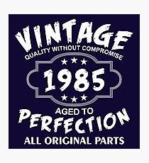 Vintage 1985 Photographic Print