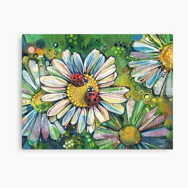 Ladybugs Painting - 2021 Canvas Print