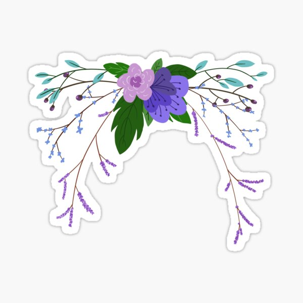 floral arrangement Sticker
