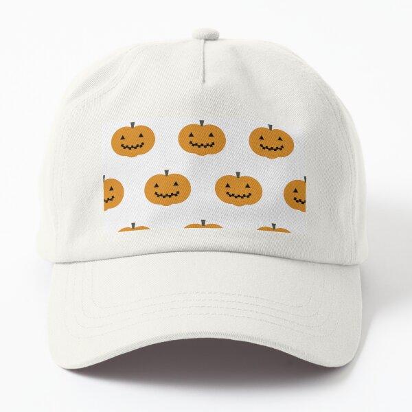Pumpkin Pattern Dad Hat
