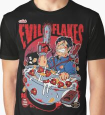 EVIL FLAKES Graphic T-Shirt