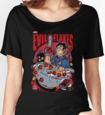 EVIL FLAKES Women's Relaxed Fit T-Shirt