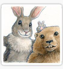 Bunny Ears-  Sticker