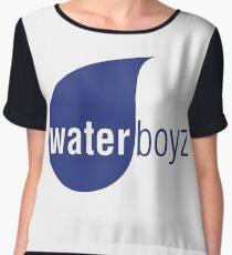 Waterboyz logo chris travis Chiffon Top