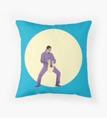Jesus The Big Lebowski Throw Pillow