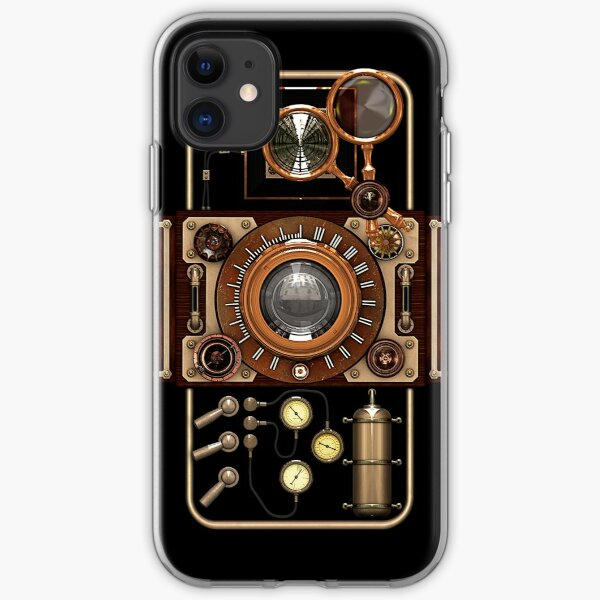 Stylish Steampunk Vintage Camera (TLR) No.2 Steampunk Phone Cases iPhone Soft Case