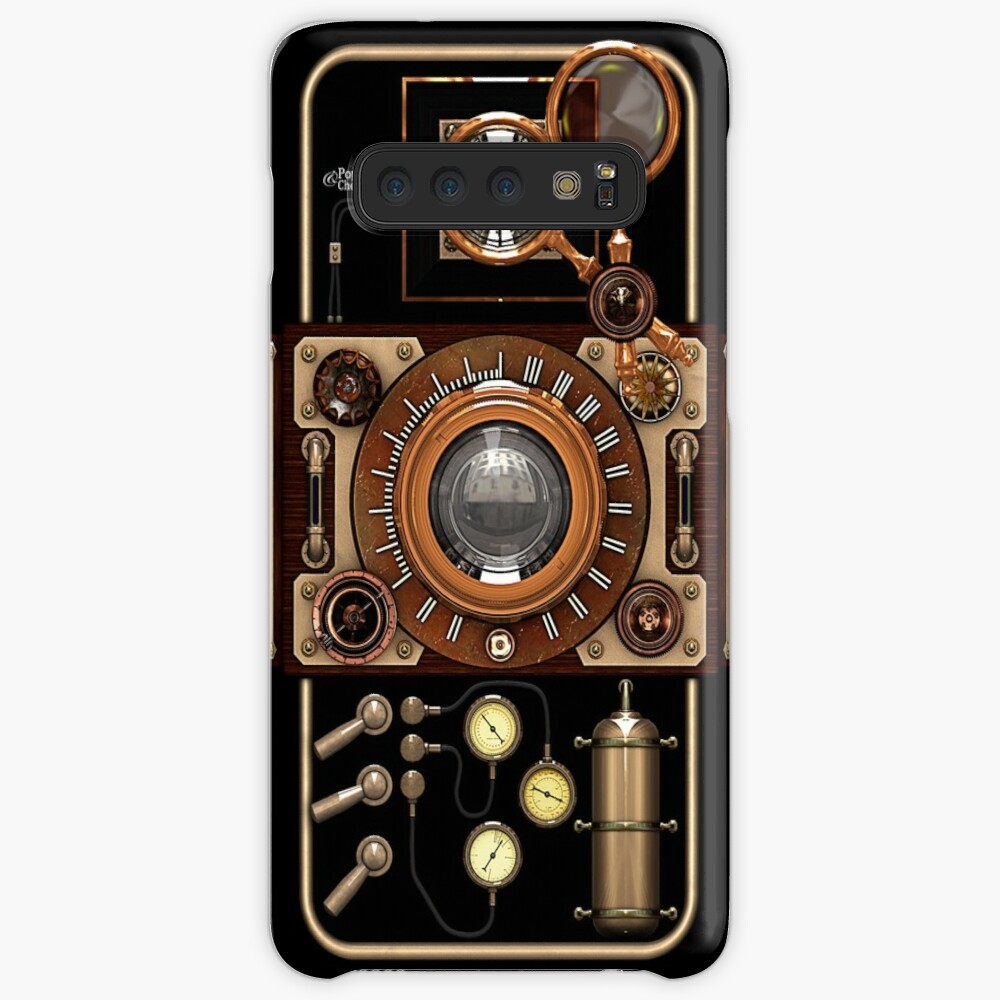 Stylish Steampunk Vintage Camera (TLR) No.2 Steampunk Phone Cases Case & Skin for Samsung Galaxy