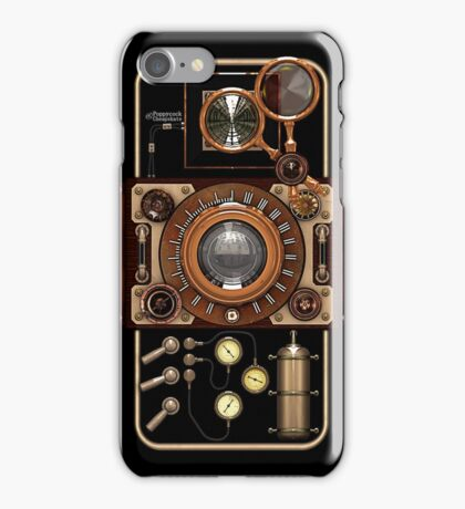 Stylish Steampunk Vintage Camera (TLR) No.2 iPhone Case/Skin
